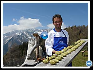 Koken op de alm